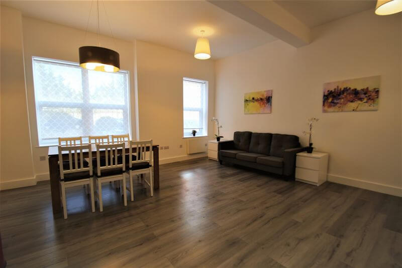 Kinash House Flat  Living