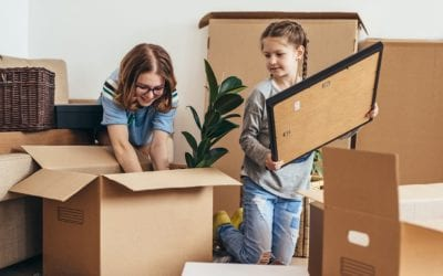 Moving House With Children (if you're taking them with you)!